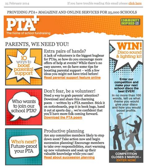 pta newsletter templates parent letter 1000 images about pta flyers on