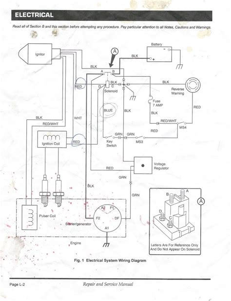 1999 ezgo gas wiring diagram wiring diagram with description
