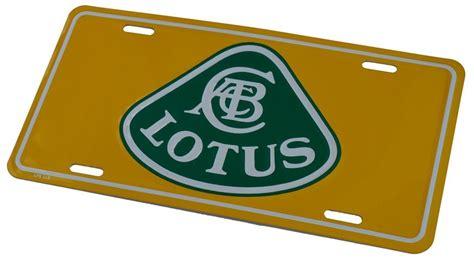 Lotus Plate by Lotus License Plate