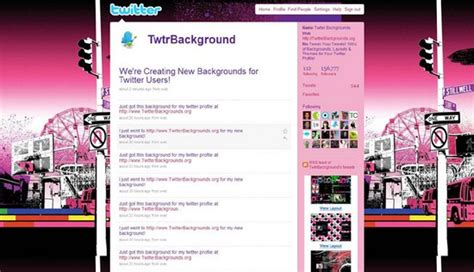twitter layout maker twitter background maker image collections wallpaper and