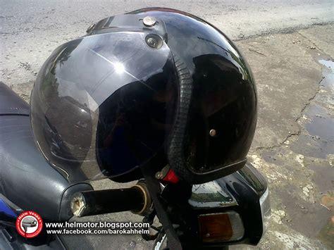 Helm Bogo Retro Sni Hitam Polos helm vespa bogo hitam polos helm vespa