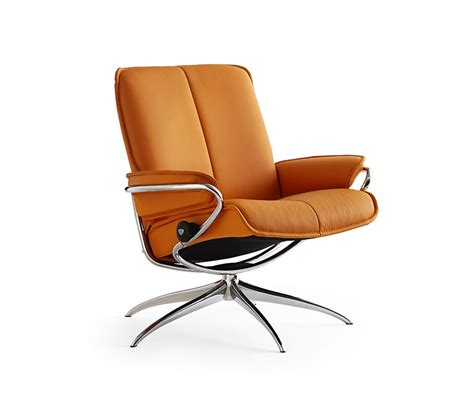 Low Reclining Chair by Stressless City Low Back Recliner Chair Wharfside
