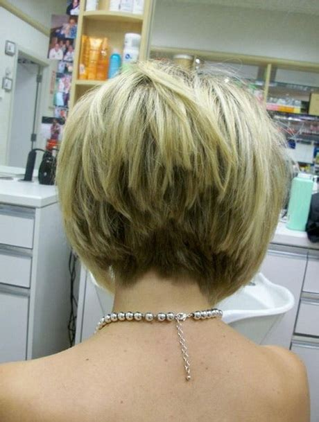 cute hair styles when growing out stacked short stacked haircut