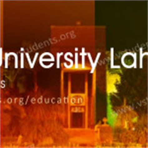 Uol Fee Structure For Mba by Gc Lahore Admission 2017 Last Date Fee Structure