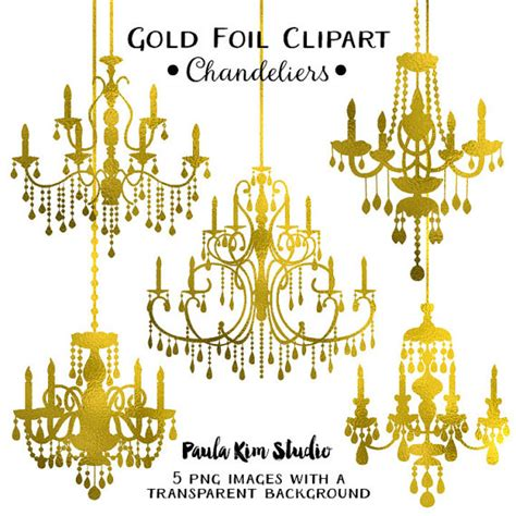 chandelier clip gold chandelier clipart clipart suggest