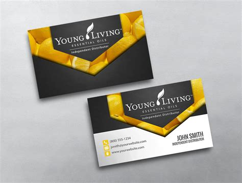 free living business card templates living business card 07