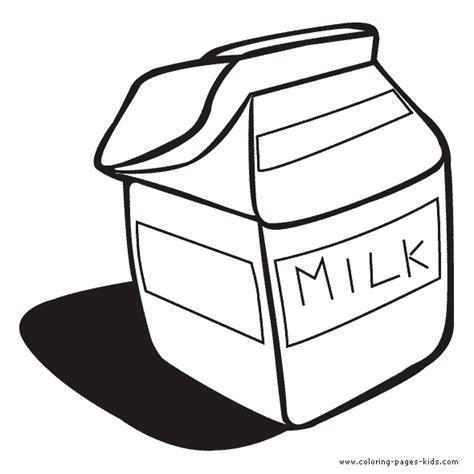 milk carton coloring page home sketch coloring page
