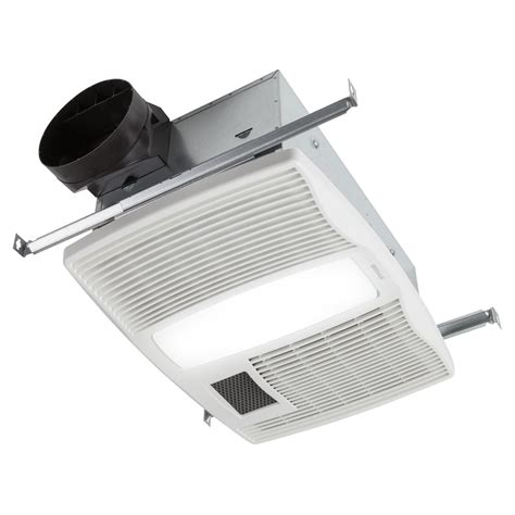 bathroom fan with heater light and nightlight broan qtx110hl ultra silent series bath fan with heater