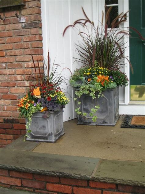 fabulous fall flower containers 17 best images about garden on pinterest gardens