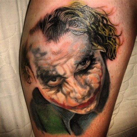 batman tattoo realistic realistic detailed joker tattoo batman tattoos