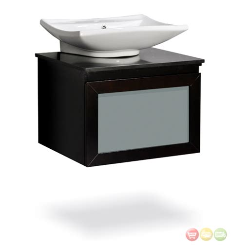 Synonyms Of Vanity by Vanity Fulton 24 With Vessel Sink Walnut White Sink