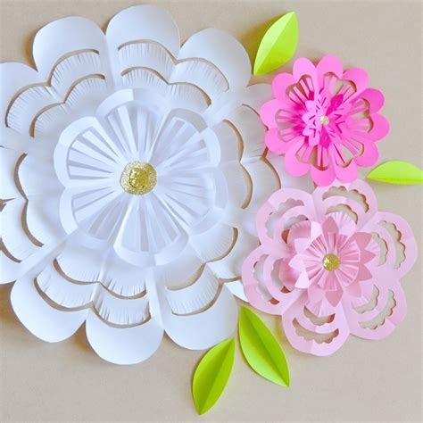paper flower cut out template flowers to cut paper patterns patterns kid