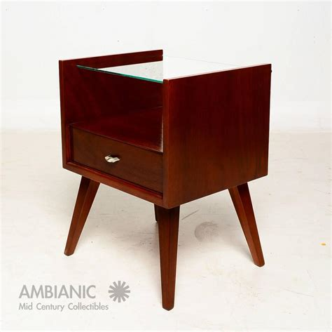 Raymond Loewy Furniture by Pair Of Mid Century Modern Nightstands By Mengel Raymond