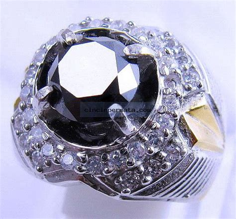 Cincin Diamonds cincin batu mulia black cincinpermata jual