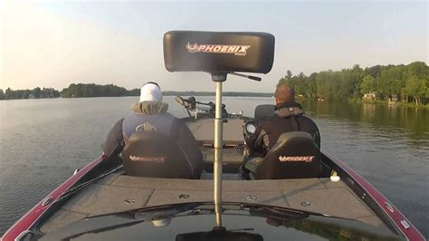 phoenix bass boats ontario phoenix bass boat 618 youtube