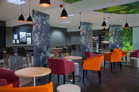 canteen wnt restaurant  kitzig interior design architecture group kempten germany