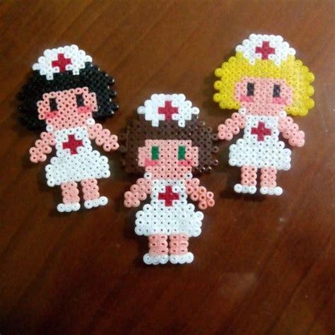 hama bead nurses hama by meerrcediitass hama