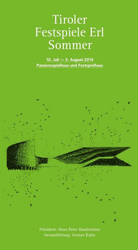 B Erl Issuu Tiroler Festspiele Erl Sommer 2014 By Tiroler