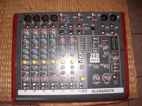 Mixer Allen Heath Zed 10fx allen heath zed 10fx image 816304 audiofanzine