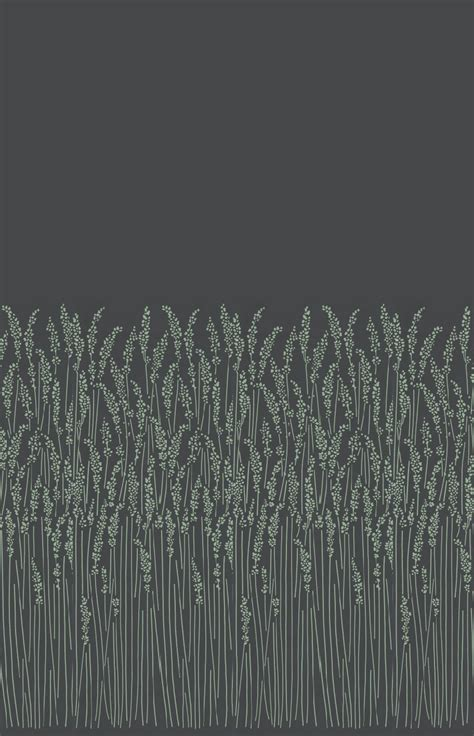 feather grass  farrow ball black wallpaper direct