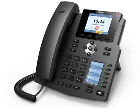 Fanvil X4 High End Enterprise Desktop Ip Phone Poe fanvil announced new x4 g ip phone with colour dss display