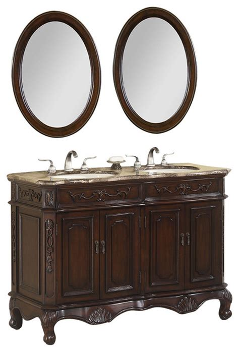 50 inch double sink bathroom vanity 50 inch double bath vanity set with marble top 3 piece