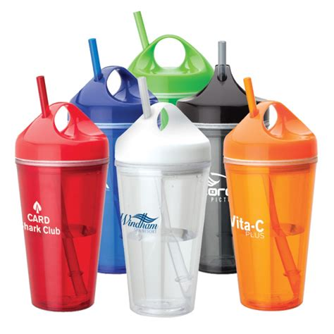 tumbler design maker online personalized acrylic tumbler with carry handle and straw