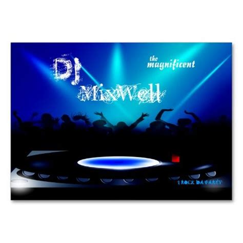 17 Best Images About Dj Business Cards On Pinterest Business Card Templates Stainless Steel Disc Jockey Website Templates