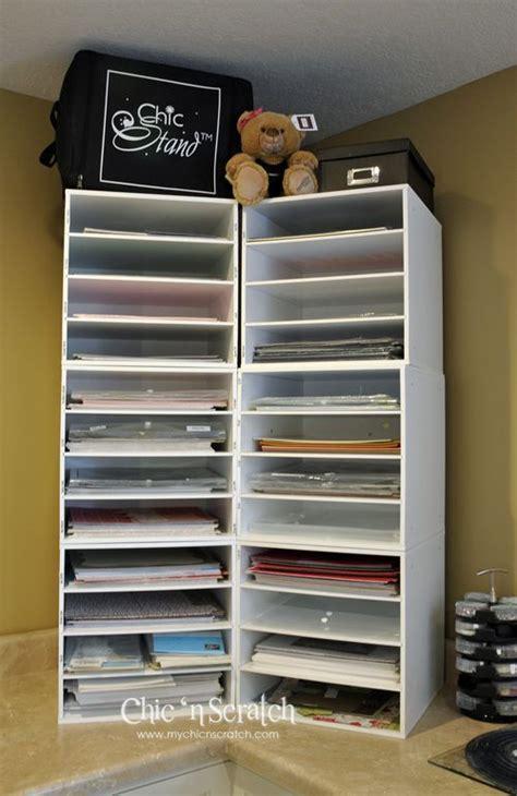 printer paper storage angie s stin studio 12 x 12 paper storage