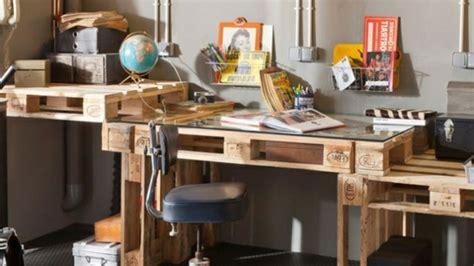 bureau en palettes id 233 es originales de meubles en palettes