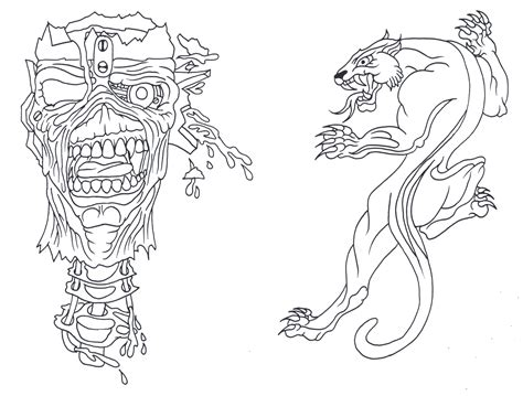 outline tattoo designs flash outlines pictures to pin on