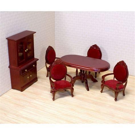 melissa  doug victorian dining room furniture set