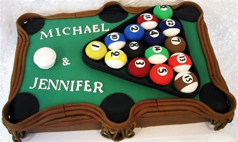 classic pool table cake shakar bakery