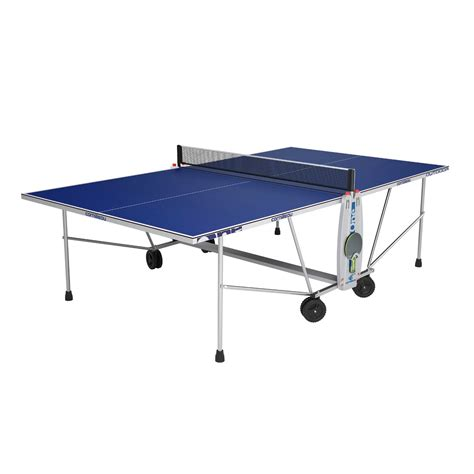 cornilleau outdoor sport one rollaway table tennis table