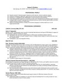 Sle Resume For Cleaning desktop support resume sle sales support lewesmr