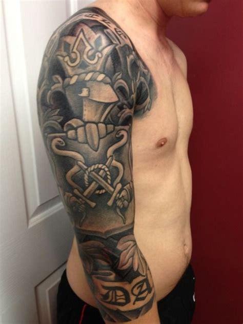 tattoo arm family family crest 3 4 sleeve 5 ooh la la tattoos n more