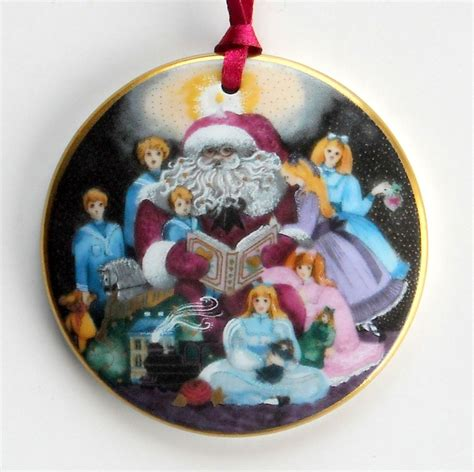 bing grondahl copenhagen santa claus christmas ornament 1994