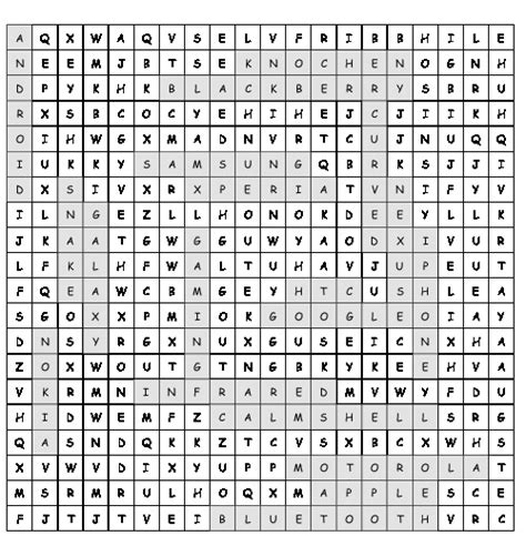 printable word search evolution word search the evolution of mobile phones with 19 hidden