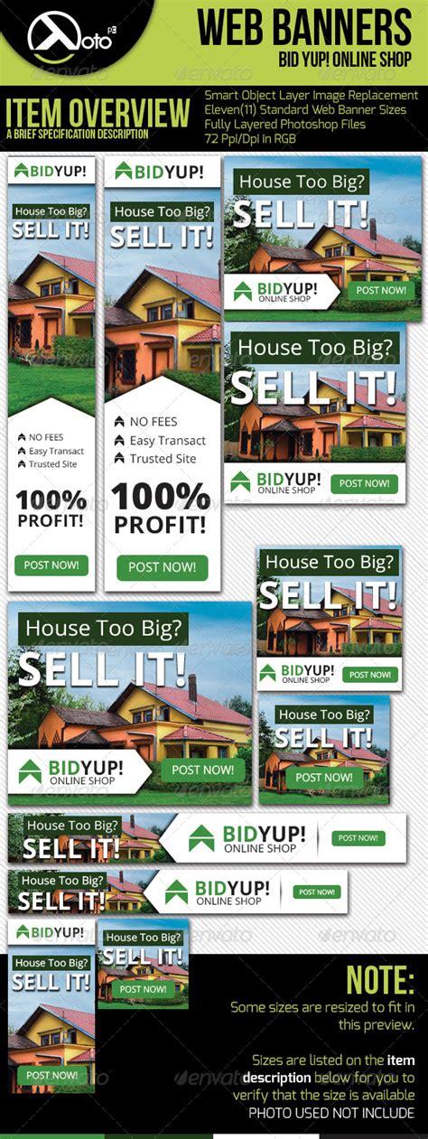 bid web bid yup shop web banners graphicriver