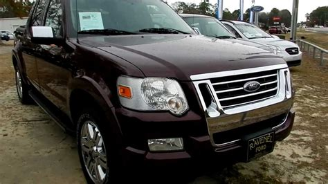 ravenel ford 2008 ford explorer sport trac review limited for sale