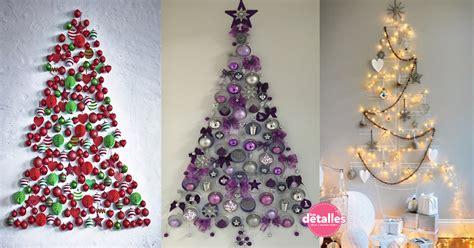 decorar pared para navidad 193 rboles navide 241 os sobre pared dale detalles