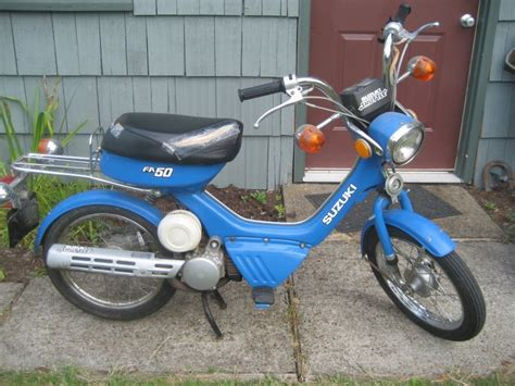 Suzuki Fa50 1983 Suzuki Fa50 Shuttle Moped Photos Moped Army