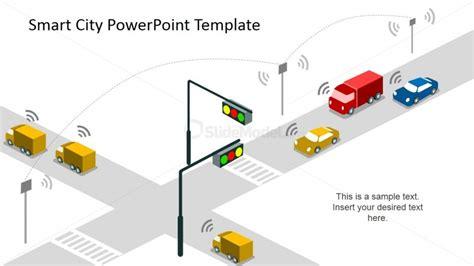 smart powerpoint templates smart traffic slide design slidemodel