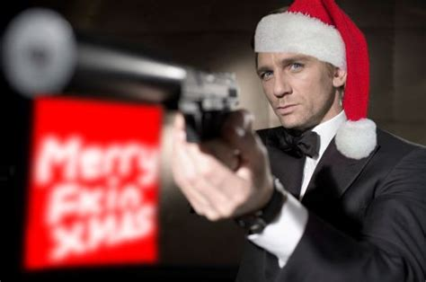 christmas collection for james bond wannabes celebrity