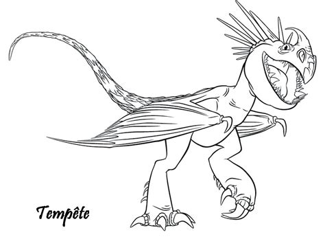 httyd 2 stormfly coloring pages