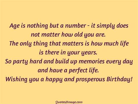 Age Is Just A Number Birthday Quotes Age Is Nothing But A Number It Simply Birthday Quotes