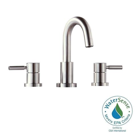 avanity positano high arc bathroom faucet brushed nickel