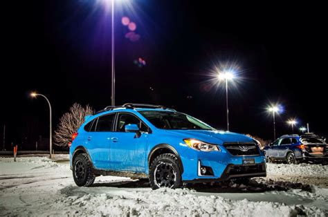 subaru crosstrek lifted blue crosstrek sport 2016 hyper blue roues pneus method race