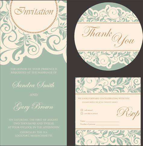 Wedding Card Design In Coreldraw by Free Wedding Invitation Card Design Editable
