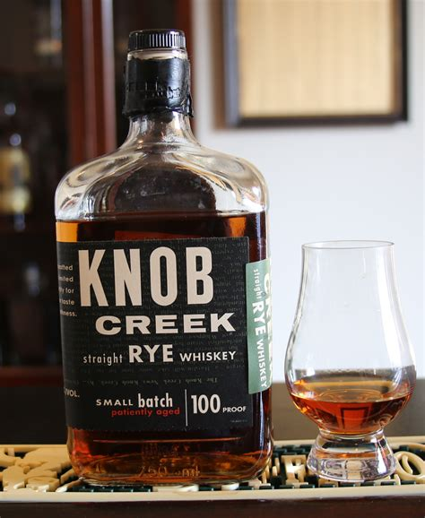 blundon bourbon review knob creek rye